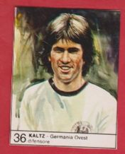 West Germany Manfred Kaltz Hamburg